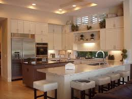 High Ceiling Kitchen by Kitchen With Flush U0026 Breakfast Bar In Palm Beach Gardens Fl