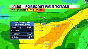 Rainfall Totals Map Grab A Rag The Weekend Looks Messy 41 Action Weather Blog