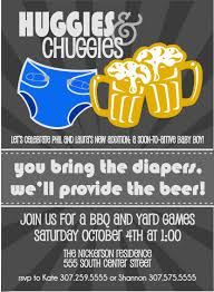 huggies for chuggies diaper party invitation by chevrondreams