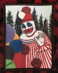 john wayne gacy pogo the clown painting patch scream for me inc