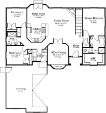 brilliant house plans single story level duplex corner lot and