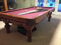 Used Pool Table by Pool Table Appraisal Maine Home Recreation