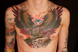 110 best chest tattoos for and chest chest