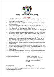 14 safety contract template free word pdf format download
