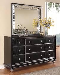 bedroom black bedroom dresser furniture set with mirror terrific black dresser with mirror wynwood glam black mirrored king size mansion bed bedroom furniture