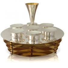 modern seder plate modern 3 tier seder plate passover shabbat