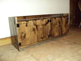 beautiful wood entryway bench with storage of unfinished storage