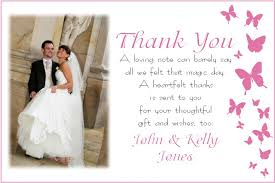 wedding thank you card wedding thank you cards ideal time when to send wedding thank you