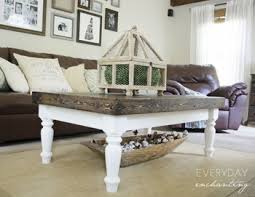 Country Coffee Table Jumbo Coffee Table Leg