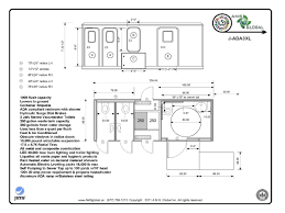 commercial bathroom floor plans