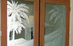 Glass Door Etching Designs by Etched Glass Frosted Glass Decorative Custom Glass