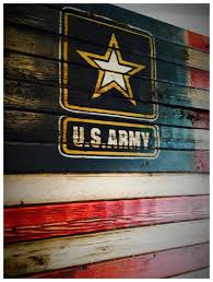 Wooden American Flag Wall Hanging Us Army Us Army Flag Army Sign American Flag Military