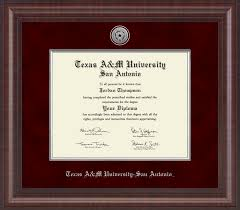 degree frames a m at san antonio diploma frames church hill