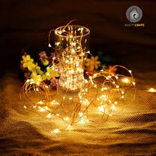 Battery Operated Fairy Lights by Beauty Lights 3m 30led Warm White Copper String Light 3 Aa Battery