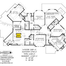 rear view house plans lake house plans with rear view living room walkout basement cottage