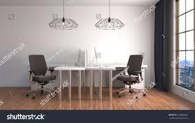 office interior 3d illustration stock illustration 534066844