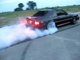 1988 mustang 5 0 horsepower 1988 ford mustang gt burnout