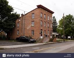 duplex house old town brick duplex house stock photo royalty free image