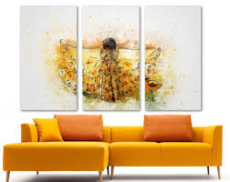 Wall Decor Living Room Abstract Art Etsy