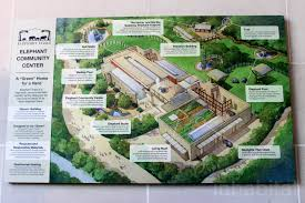 Washington Dc Zoo Map by Smithsonian Zoo U0027s Leed Gold Asian Elephant Center Is A Comfortable