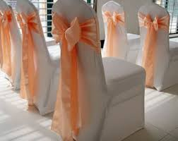 chair bows for weddings chair bows etsy