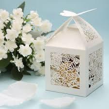 50th wedding anniversary party favors amazon com 50pcs laser cut candy boxes 2 u0027 u0027x2 u0027 u0027x2 u0027 u0027 rose