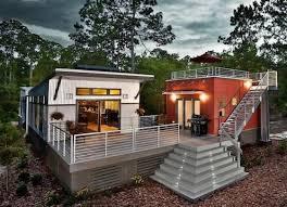 tiny houses prefab modular living 2 tiny houses with big deck rooftop deck aswell