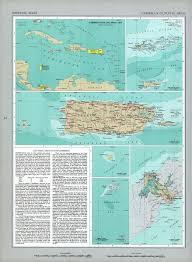 Map Of Us And Puerto Rico by The National Atlas Of The United States Of America Perry