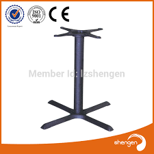 Patio Table Legs Hd070 Universal Patio Furniture Parts Metal Wrought Iron Table