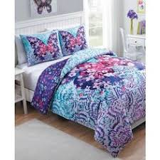 Purple Comforter Set Bedding Twin by 3 Pc Twin Size Purple White Coverlet Set Boho Medallion Quilted