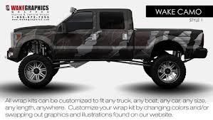customized truck truck wraps kits vehicle wraps wake graphics