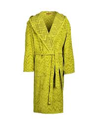 men towelling robes men on missoni online store