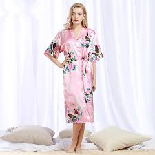 catchy luxury dressing gowns and ladies pale pink quilted pure