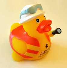rubber duck pa american water safety official duckie new 3 inch