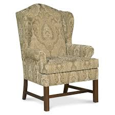 Decorative Living Room Chairs by Furniture Maroon Decorative Wingback Recliner With Dark Wood Legs