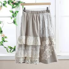 lange rok crop top lange rok boho skirt rokken mesh lace