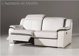 canap cuir 2 places conforama canape relax electrique conforama fauteuil relax lectrique with