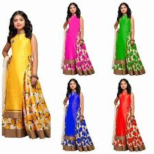 kids party wear gown at rs 350 piece bachchon ka gown hansni