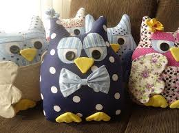 creative ideas diy fabric owl ornaments with free pattern