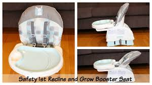 more then a travel high chair safety 1st recline u0026 grow booster