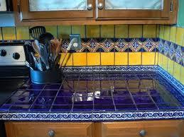 mexican tiles for kitchen backsplash talavera tile kitchen countertops ideas slate tile kitchen