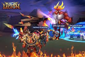 legion of heroes apk magic legion legend unlock all android apk mods
