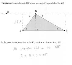 triangle sum proof students are asked prove that the measures of