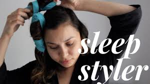 headband styler sleep styler impression miss dom