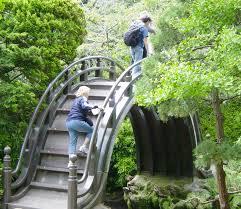 howling polished bridge small garden bridges to en your garden