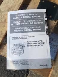 kubota d905 diesel engine 3 cyl 1g97831000 complete w starter