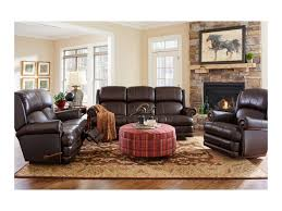 La Z Boy Living Room Chairs La Z Boy Kirkwood Traditional Space Saver Reclining Sofa Great