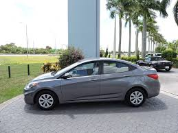 2015 used hyundai accent 4dr sedan automatic gls at royal palm