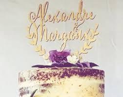 custom wedding cake topper personalized names cake topper
