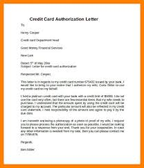 authorization letter to travel using credit card sample credit card authorization letter u2014 david dror